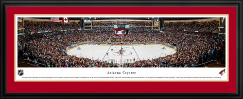 Arizona Coyotes Panoramic - Gila River Arena Picture