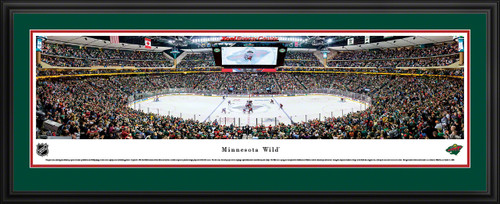 Minnesota Wild Panoramic Picture - Xcel Energy Center