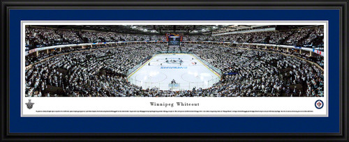 Winnipeg Jets Whiteout Panoramic