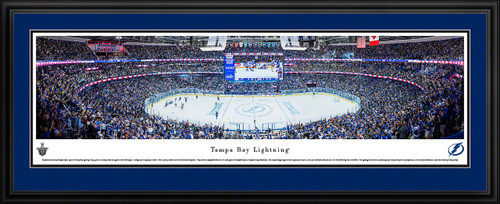 Tampa Bay Lightning Panoramic Picture - Amalie Arena Panorama