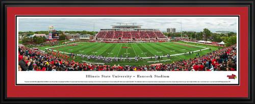 Illinois State Redbirds Panoramic - Hancock Stadium Picture