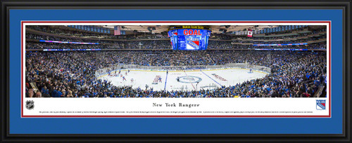 New York Rangers Panoramic Picture - Madison Square Garden Panorama