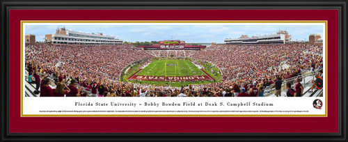 Florida State Seminoles Panoramic Picture - Doak Campbell Stadium