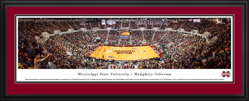 Mississippi State Bulldogs Basketball Panoramic - Humphrey Coliseum Picture