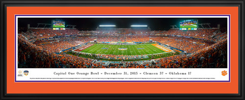 2015 Orange Bowl Panorama - Sun Life Stadium - Clemson Tigers
