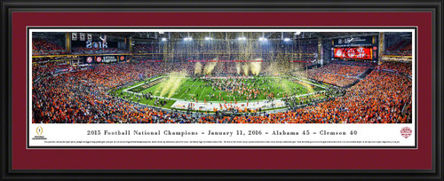 2016 CFP Panoramic Picture - College Football Playoff Championship - Alabama Crimson Tide
