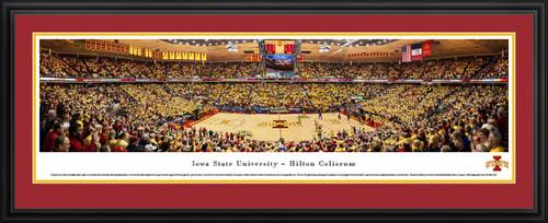 Iowa State Cyclones Panorama - Hilton Coliseum Panoramic Picture
