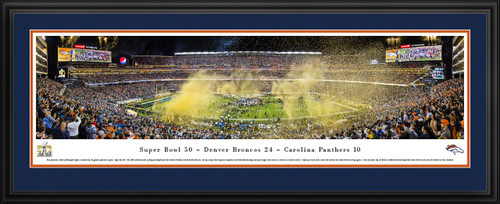 2016 Super Bowl Panoramic Picture - Super Bowl 50 - Denver Broncos