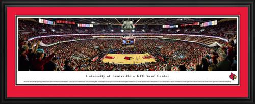 Louisville Cardinals Basketball Panorama - KFC Yum! Center Panoramic Picture