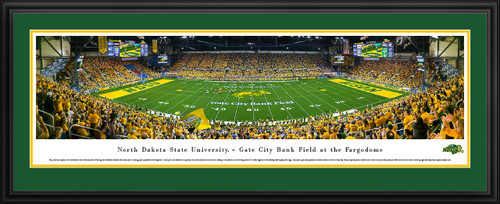 North Dakota State Bison Panoramic Picture - NDSU Fargodome Panorama