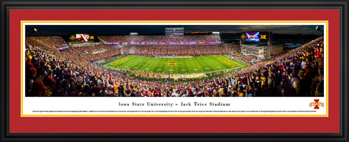 Iowa State Cyclones Football Panoramic Picture - Jack Trice Stadium