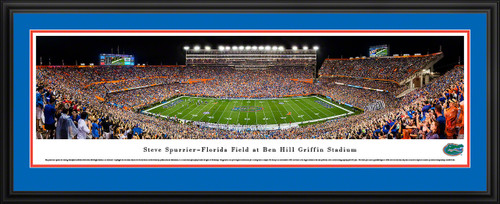 Florida Gators Football Panorama - Steve Spurrier-Florida Field at Ben Hill Griffin Stadium Panoramic Picture