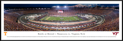 2016 Battle at Bristol Panoramic Picture - Tennessee Volunteers vs. Virginia Tech Hokies