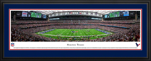 Houston Texans Panoramic Picture - NRG Stadium Panorama