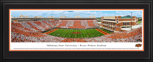 Oklahoma State Cowboys Football Panorama - Boone Pickens Stadium Panoramic Picture