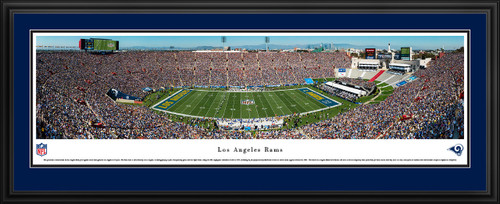 Los Angeles Rams Panoramic Picture - Los Angeles Memorial Coliseum Panorama