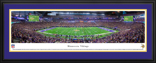 Minnesota Vikings Panoramic Pictures - U.S. Bank Stadium