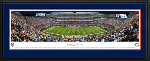 Chicago Bears Panoramic Picture - Soldier Field Stadium Panorama
