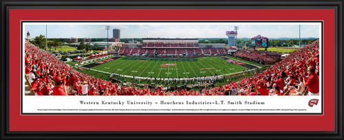 Western Kentucky Hilltoppers Football Panorama - Houchens Industries L. T. Smith Stadium