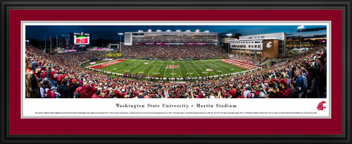 Washington State Cougars Football Panoramic Picture - Martin Stadium