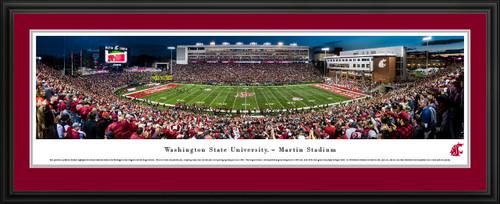 Washington State Cougars Football Panoramic Picture - Martin Stadium