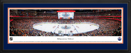 Edmonton Oilers Panoramic NHL Picture - Rogers Place Panorama