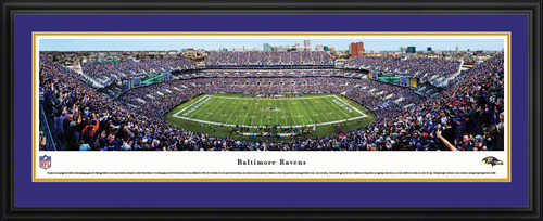 Baltimore Ravens Panoramic Picture - M&T Bank Stadium