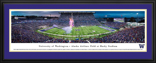 Washington Huskies Football Panoramic Picture - Husky Stadium
