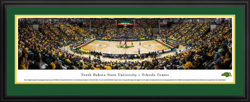 North Dakota State Bison Basketball Panorama - NDSU SCHEELS Center