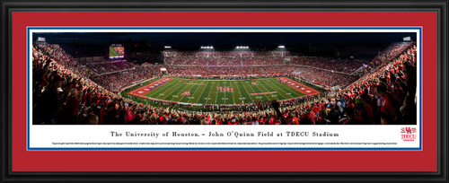 Houston Cougars Panoramic Picture - TDECU Stadium Panorama