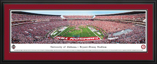 Alabama Crimson Tide Football Panoramic Picture - Bryant-Denny Stadium