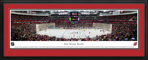 New Jersey Devils Panoramic Picture - Prudential Center NHL Photo