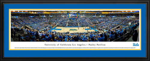 UCLA Bruins Basketball Panoramic Picture - Pauley Pavilion