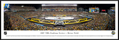 2017 NHL Stadium Series Panoramic Picture - Pittsburgh Penguins vs. Philadelphia Flyers