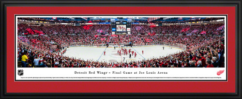 Detroit Red Wings Panoramic Picture - Joe Louis Arena NHL Panorama
