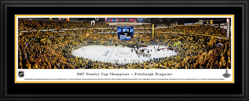2017 Stanley Cup Panoramic Picture - Pittsburgh Penguins