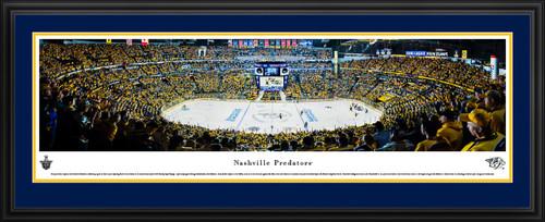 Nashville Predators Panoramic Picture - Bridgestone Arena - Stanley Cup Playoffs