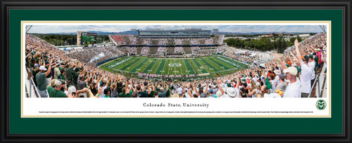 Colorado State Rams Panoramic Picture - Colorado State Stadium