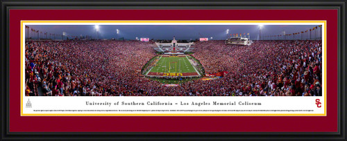 USC Trojans Panoramic Picture - Memorial Coliseum