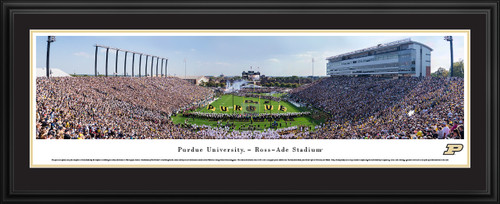 Purdue Boilermakers Football Panorama - Ross-Ade Stadium