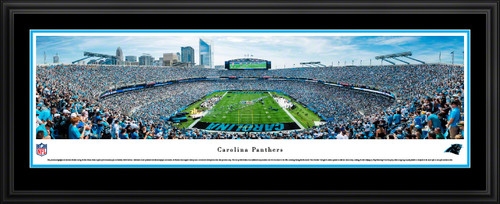 Carolina Panthers Panorama - Bank of America Stadium Picture