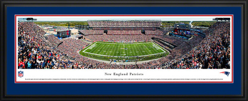 New England Patriots Panoramic Picture - Gillette Stadium