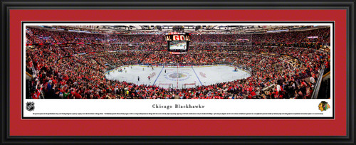 Chicago Blackhawks Panoramic Picture - United Center