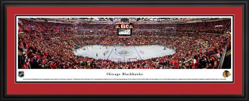 Chicago Blackhawks Panoramic Picture - United Center