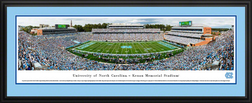 North Carolina Tar Heels Football Panoramic Picture - Kenan Memorial Stadium