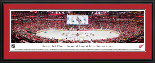 Detroit Red Wings Panoramic Picture - Little Caesars Arena