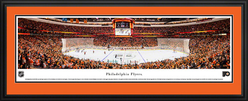 Philadelphia Flyers Panoramic Picture - Wells Fargo Center