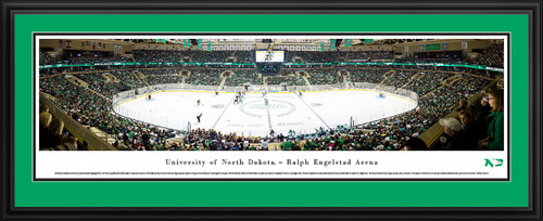 North Dakota Fighting Hawks Hockey Panoramic Picture - Ralph Engelstad Arena