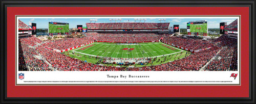 Tampa Bay Buccaneers Panorama - Raymond James Stadium Picture