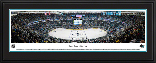 San Jose Sharks Panoramic Picture - SAP Center